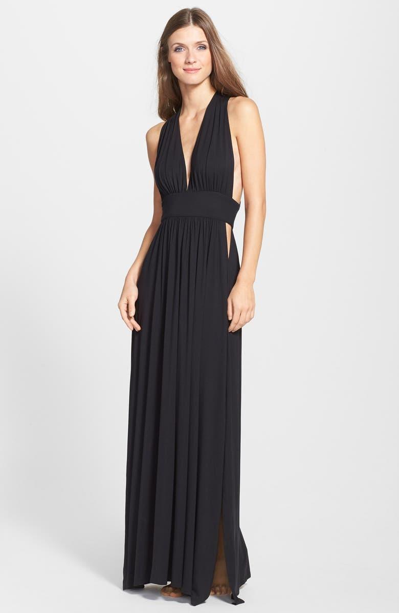 NAKED PRINCESS Maxi Nightgown, Main, color, 001