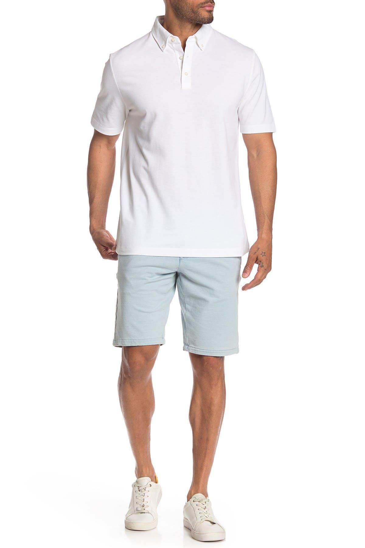 Image of Thomas Dean Solid Knit Shorts