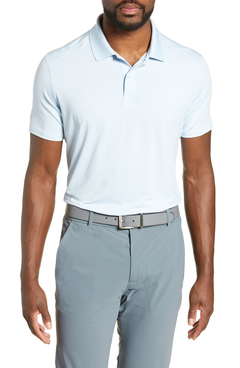 BONOBOS M-Flex Flatiron Slim Fit Golf Polo, Main, color, SKY BLUE
