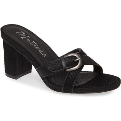 Matisse So Long Slide Sandal, Black