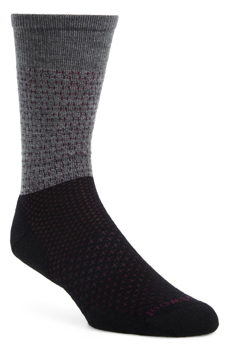 SMARTWOOL Premium Tick Stitch Crew Socks, Main, color, 001