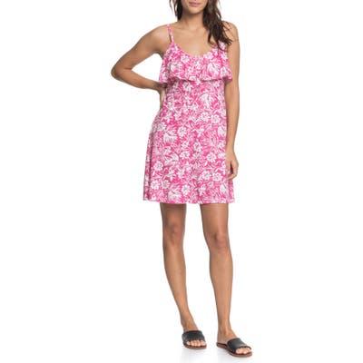 Roxy Real Friends Floral Minidress, Pink