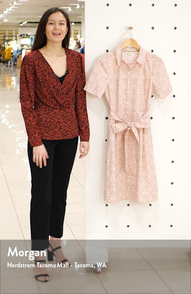 Anastasia Fit & Flare Shirtdress, sales video thumbnail