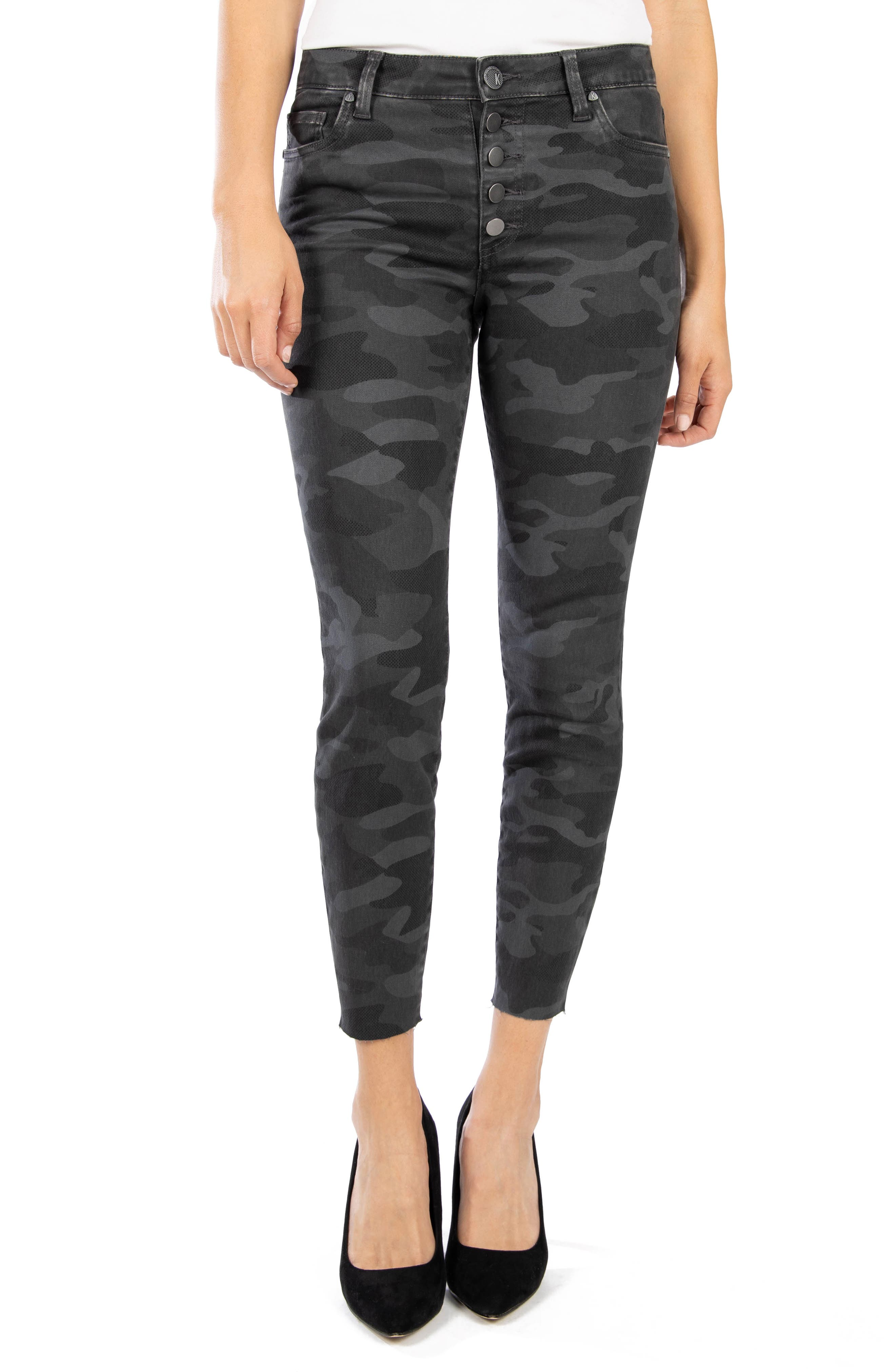 Image of KUT from the Kloth Connie High Rise Skinny Leg Jeans