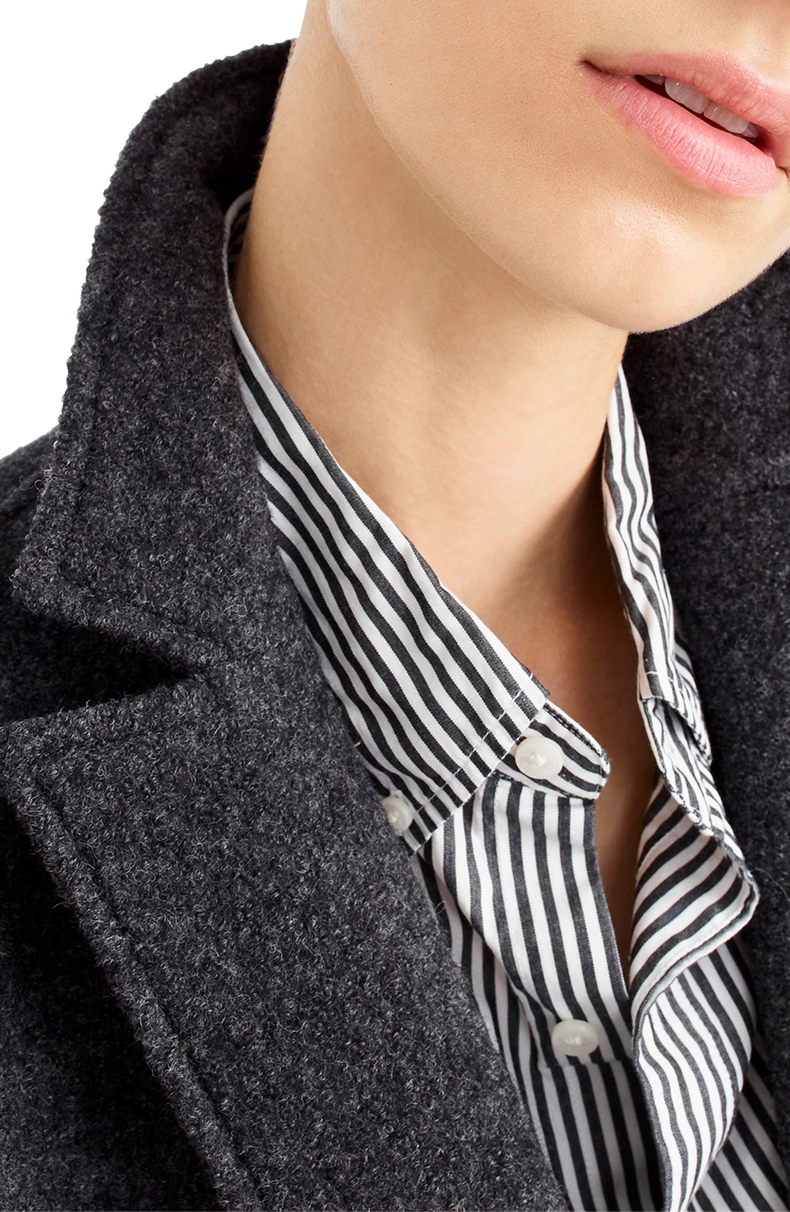 ,                             Daphne Boiled Wool Topcoat,                             Alternate thumbnail 23, color,                             091