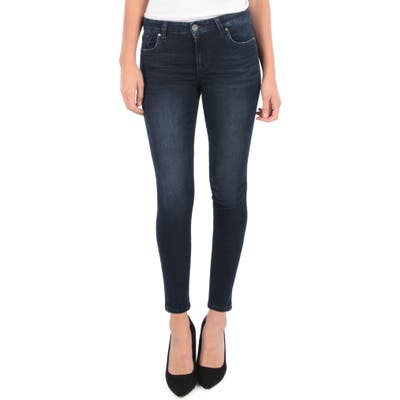 Kut From The Kloth Donna High Waist Ankle Skinny Jeans, Blue