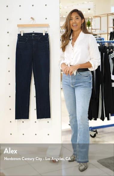 Hoxton High Waist Twisted Seam Slim Jeans, sales video thumbnail