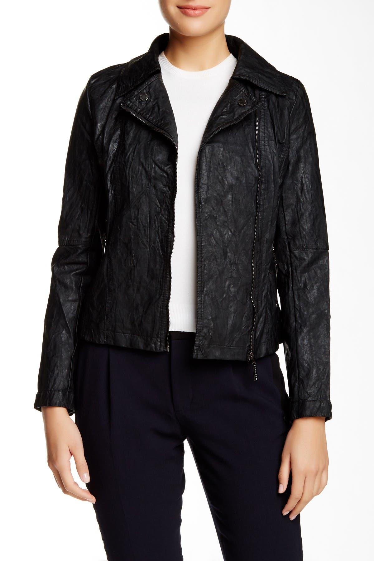 Image of Vertigo Faux Leather Jacket