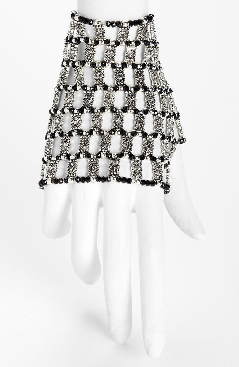 CARA Metal Stretch Glove, Main, color, 040