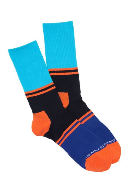 Image of Unsimply Stitched Ultra Stripe Athletic Crew Socks