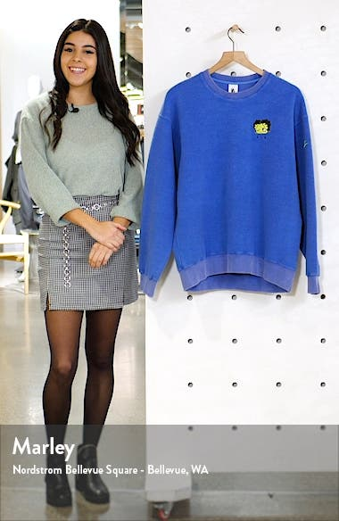 x Olivia Kim NRG Fleece Crewneck Sweatshirt, sales video thumbnail