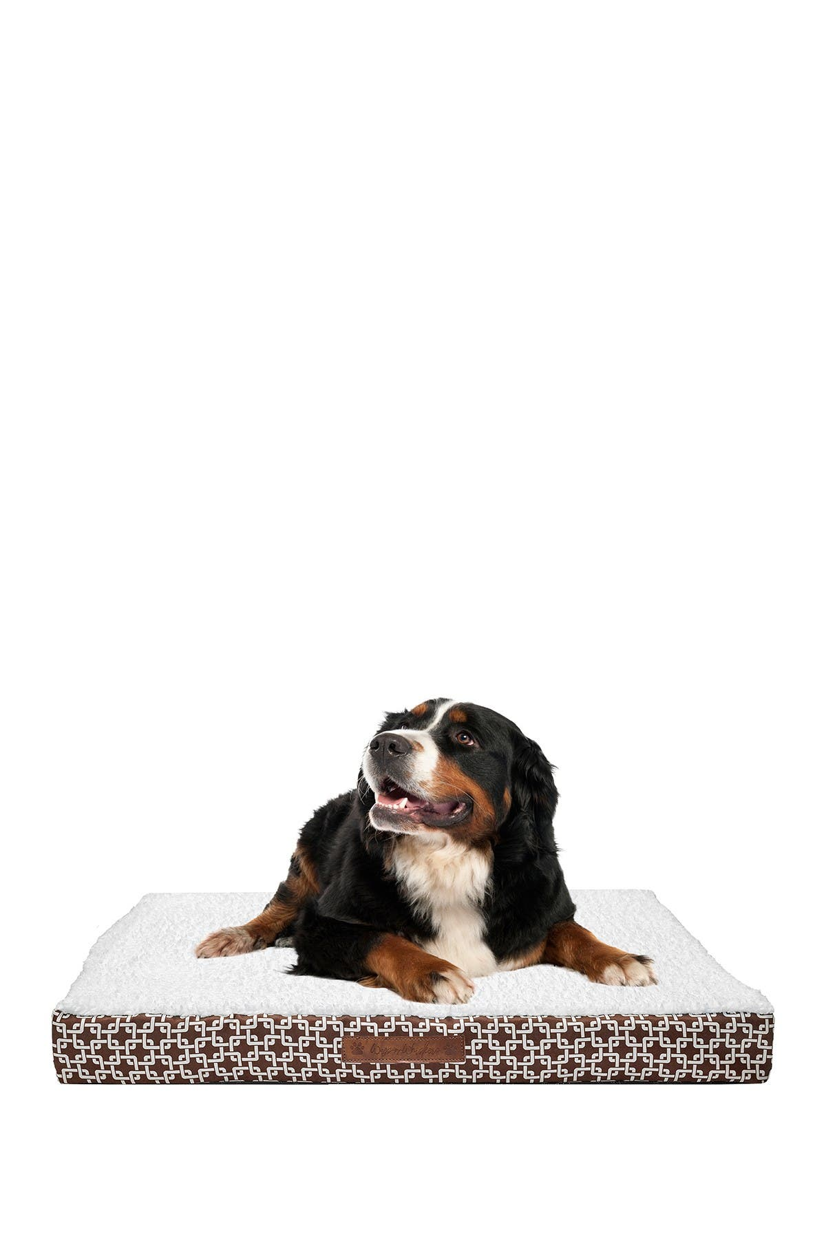 Image of Duck River Textile Dalton Chain Gate Large Orthopedic Memory Foam Pet Bed