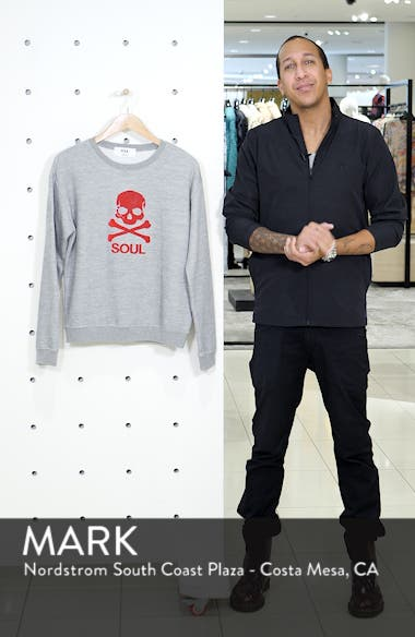 Skull Graphic Sweatshirt, sales video thumbnail