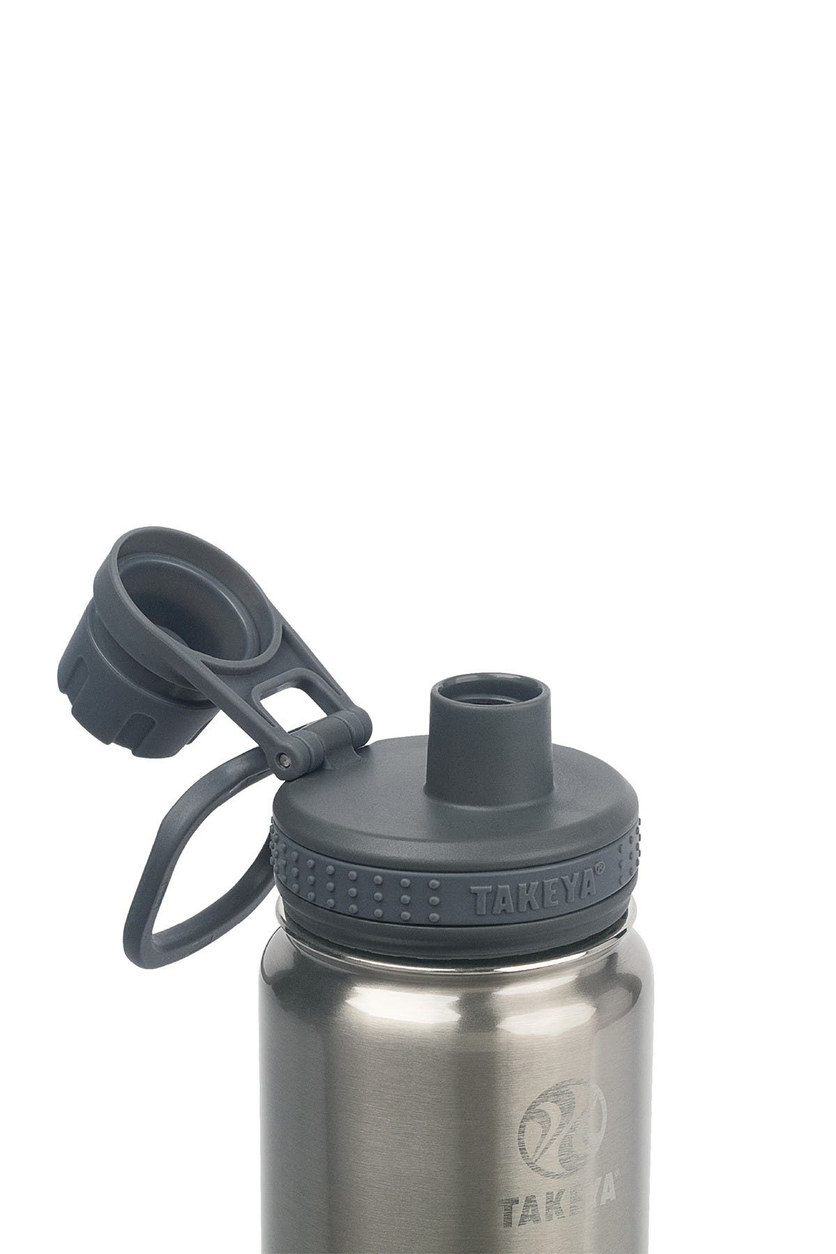 Image of Takeya Actives 18 oz. Spout Bottle - Steel