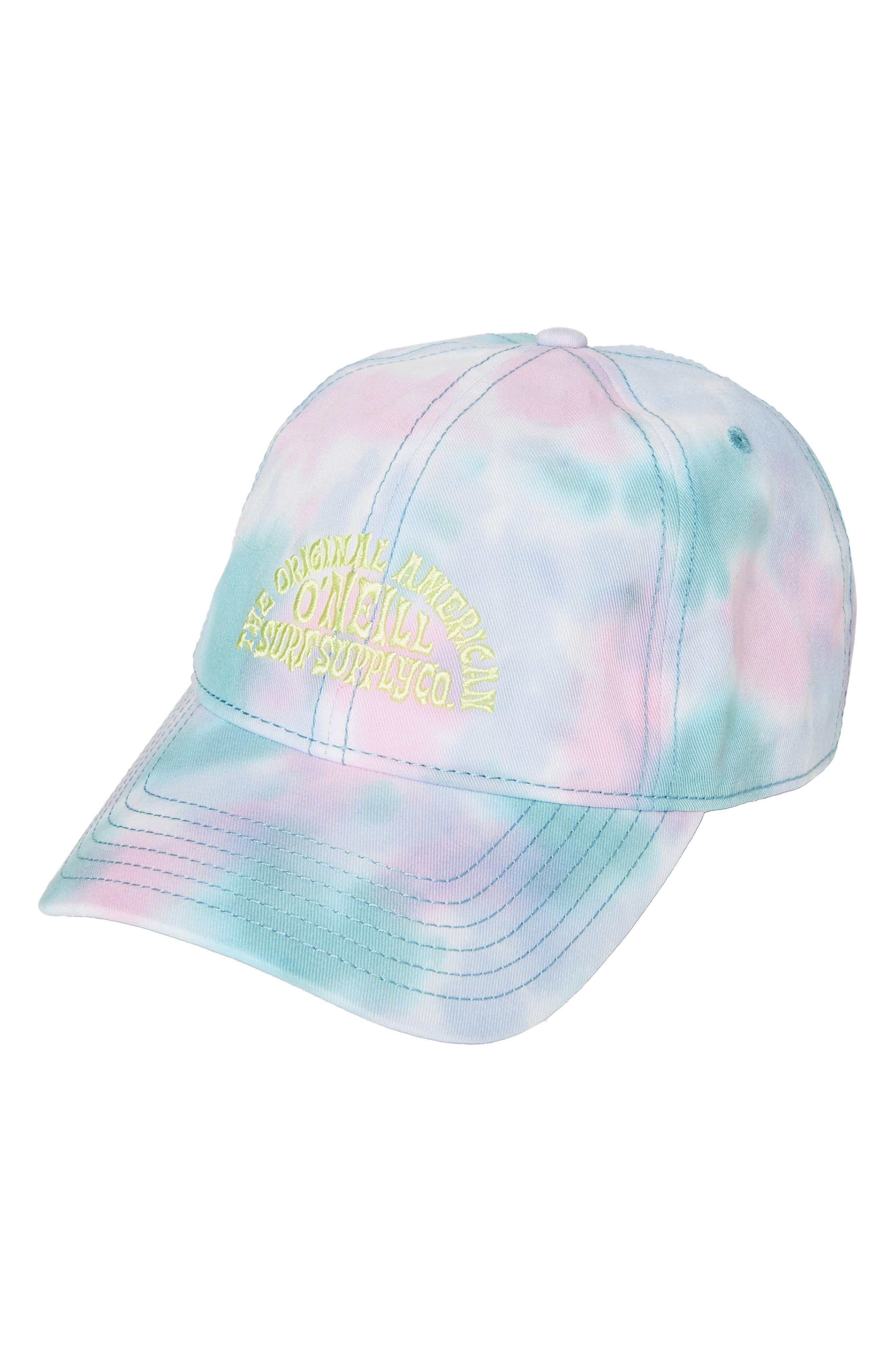 A tie-dye pattern adds undeniable retro appeal to this cute and casual baseball cap. Style Name:O\\\'Neill Drop In Tie Dye Baseball Cap. Style Number: 5995582. Available in stores.
