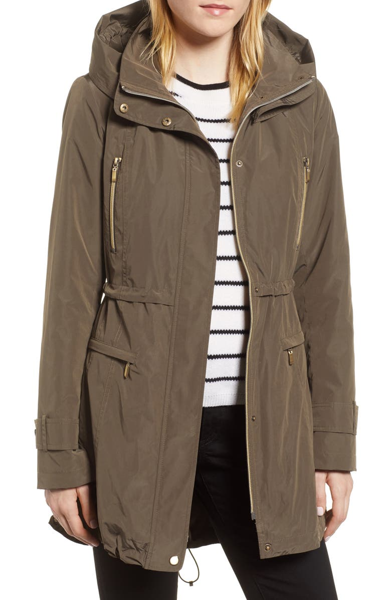 GALLERY Hooded Parka with Faux Fur Liner, Main, color, 256