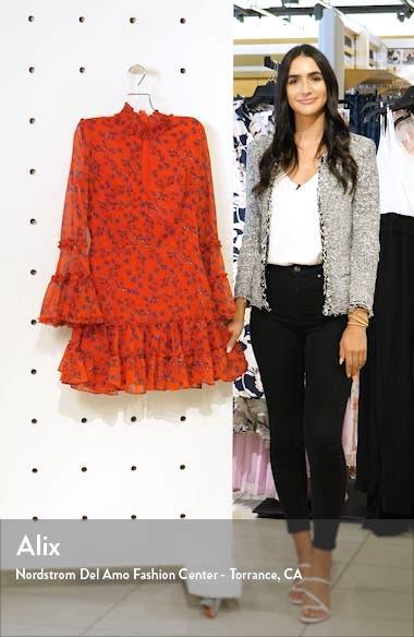 Sonny Long Sleeve Frill Minidress, sales video thumbnail