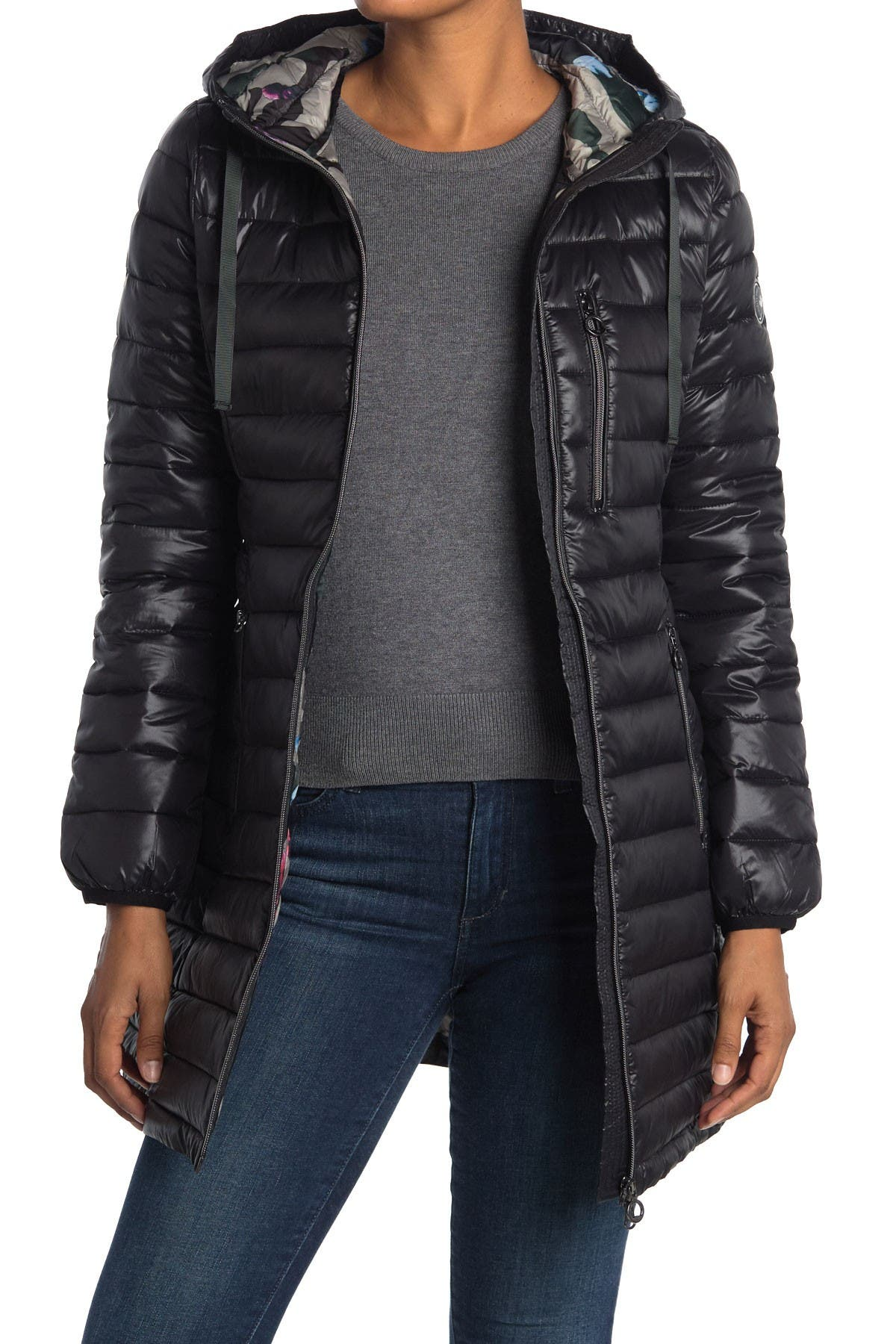Image of NOIZE Saskia Lightweight Quilted Coat