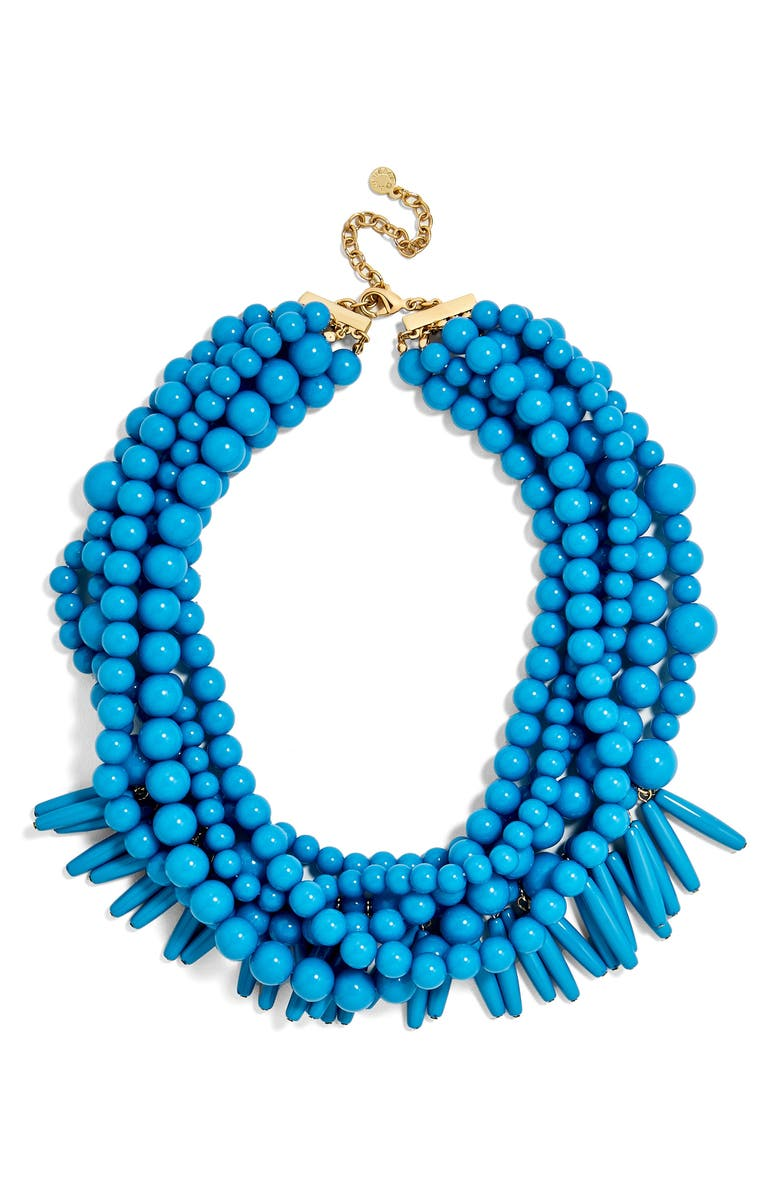 BAUBLEBAR Malibu Beaded Necklace, Main, color, 400