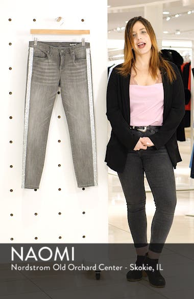 Crystal Side Skinny Jeans, sales video thumbnail