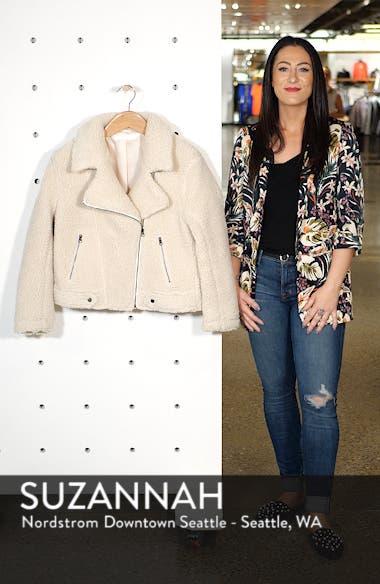 Brooklyn High Pile Fleece Jacket, sales video thumbnail