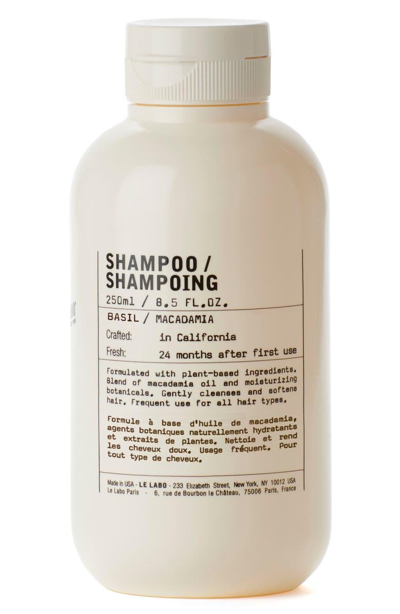 LE LABO Basil Shampoo, Main, color, NO COLOR