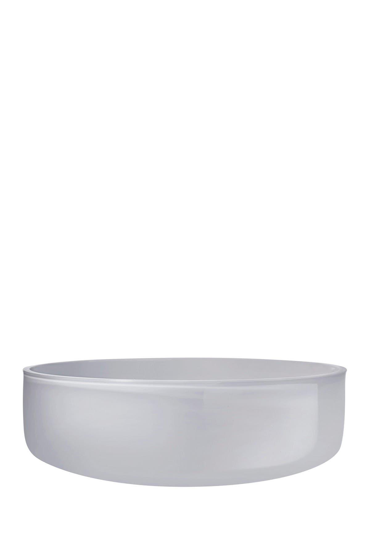 Image of Nude Glass Midnight Bowl - Medium - Opal Grey