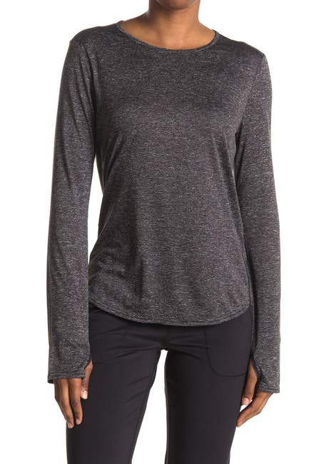 Image of Z By Zella Take A Hike Long Sleeve Knit T-Shirt