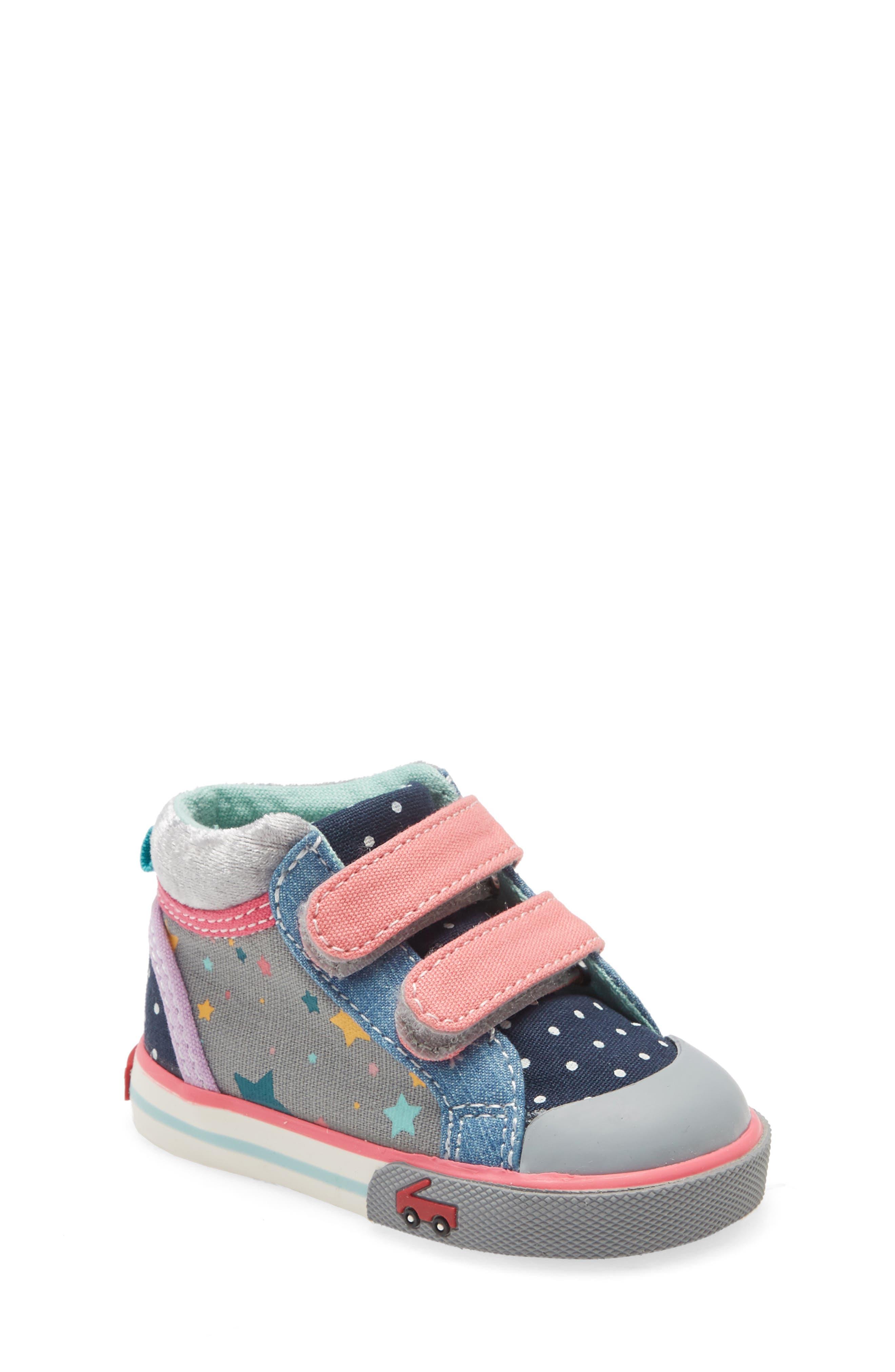 See Kai Run Kya Sneaker (Baby, Walker