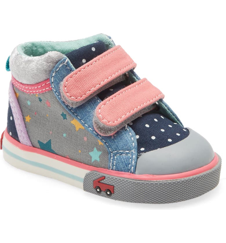 SEE KAI RUN Kya Sneaker, Main, color, GRAY/ STARS