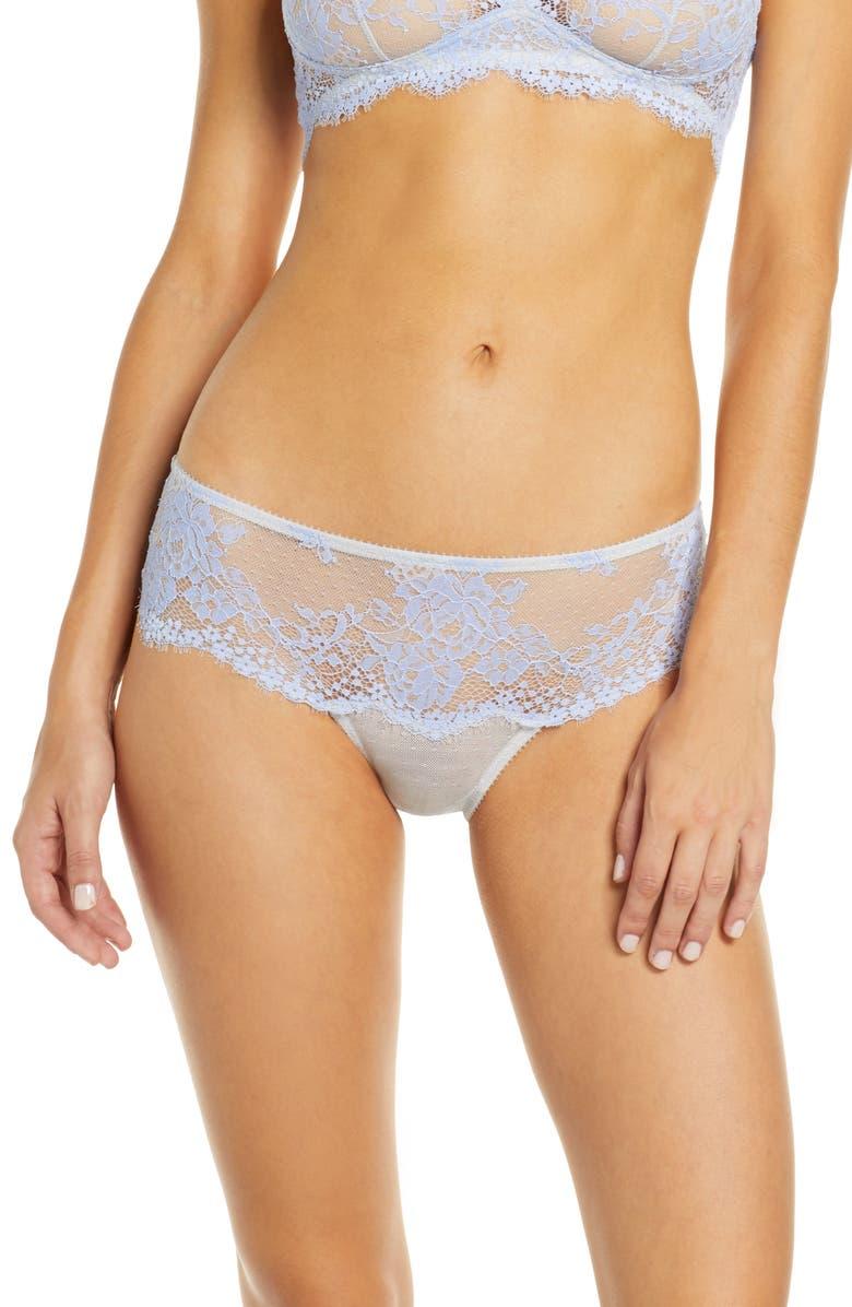 JASON WU Collection Lace Hipster Panties, Main, color, LIGHT GREY