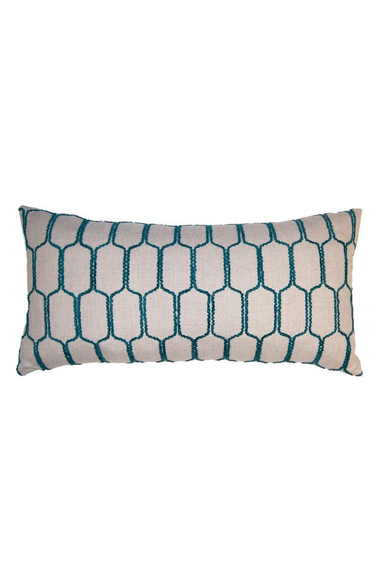SQUARE FEATHERS Sunrise Puzzle Accent Pillow, Main, color, 100
