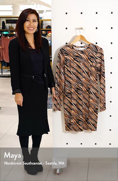Easy Fit Long Sleeve Minidress, sales video thumbnail