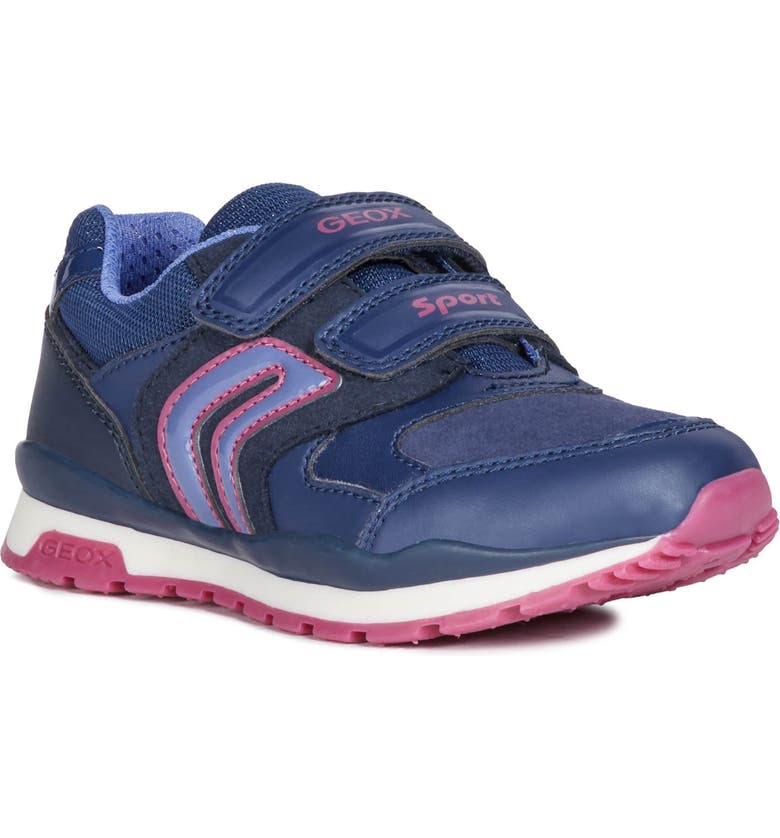 GEOX Pavel Sneaker, Main, color, NAVY/ PURPLE