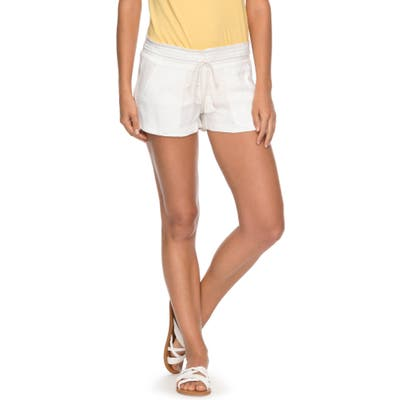 Roxy Oceanside Shorts, Ivory