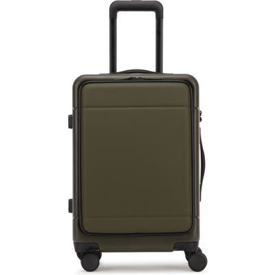 Calpak Hue 22-Inch Front Pocket Carry-On Suitcase - Green