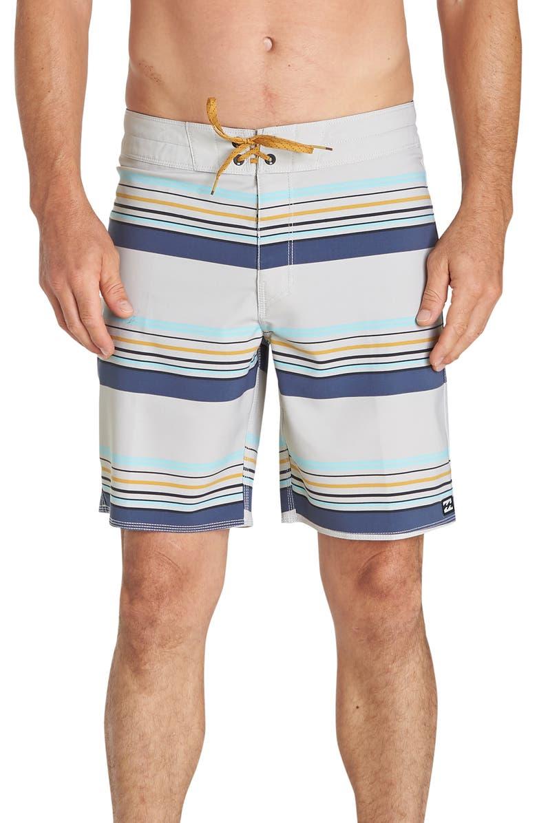 BILLABONG Sundays Stripe Pro Board Shorts, Main, color, 250