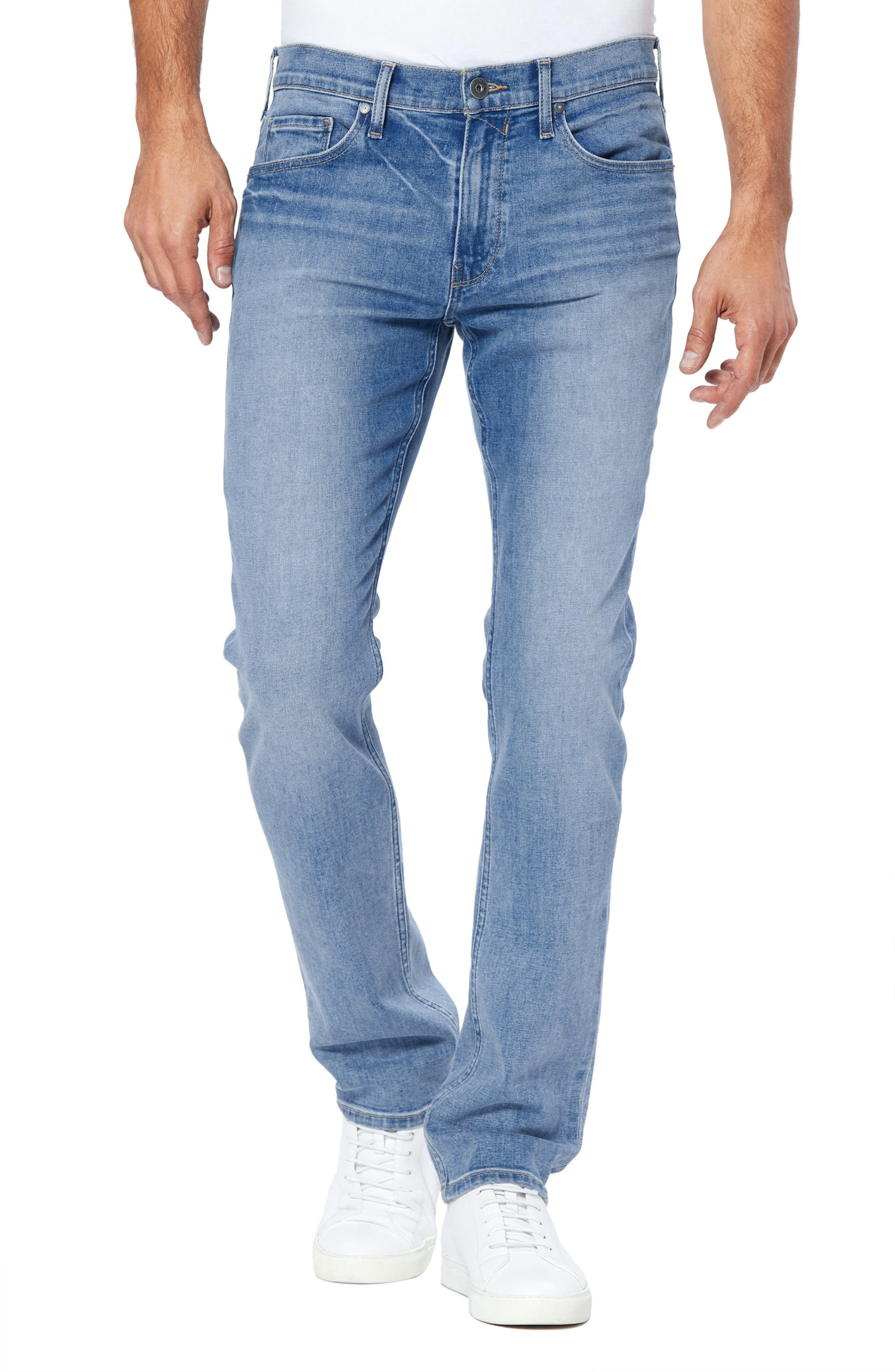 Men's Paige Federal Slim Straight Leg Jeans,  30 - Blue