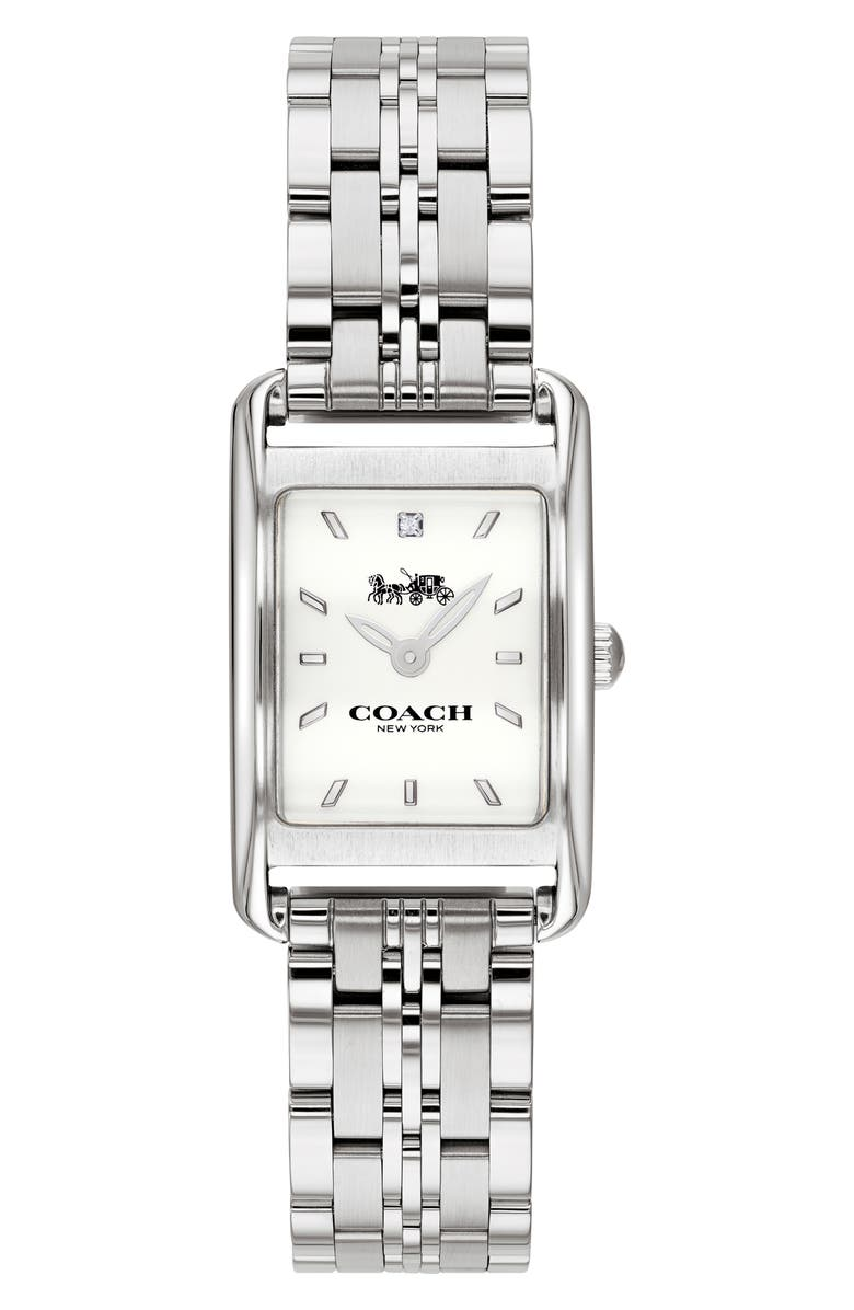 COACH Allie Bracelet Watch, 22mm, Main, color, 040