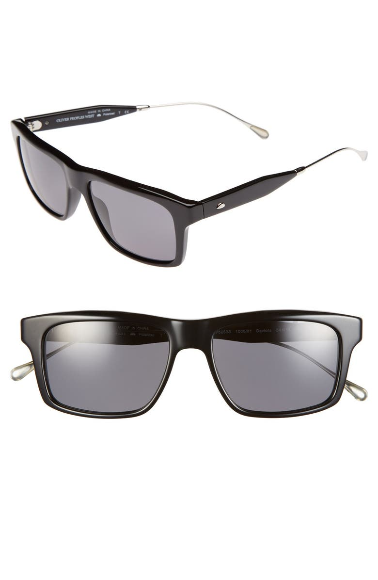 54mm 54mm West 'gaviota' Polarized 54mm 'gaviota' Sunglasses West West 'gaviota' Polarized Sunglasses 7gYfy6vmIb