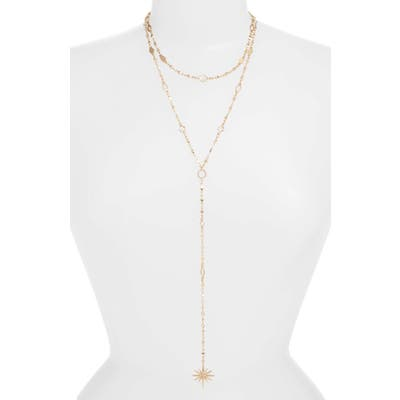 Ettika Multistrand Star Y-Necklace