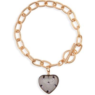Bp. Resin Heart Toggle Bracelet