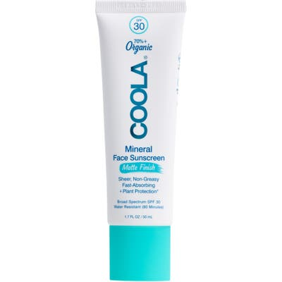 Coola Suncare Mineral Face Matte Finish Sunscreen Lotion Spf 30