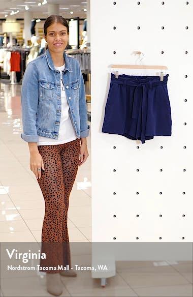 Paperbag High Waist Shorts, sales video thumbnail