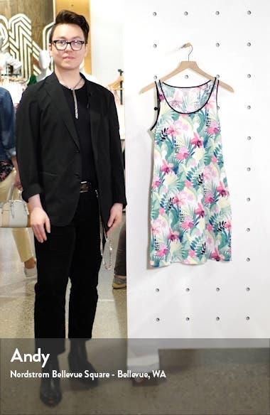 Bella Blossoms Cotton Blend Tank Dress, sales video thumbnail