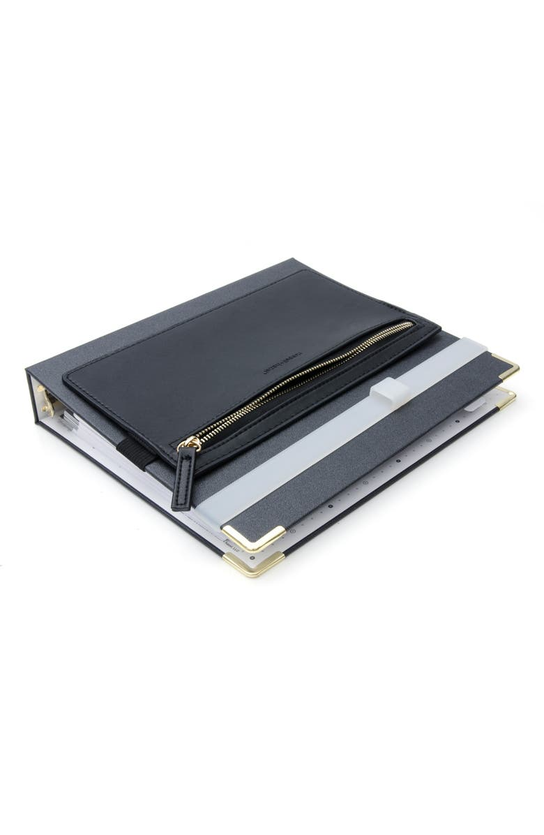 RUSSELL + HAZEL Onyx Mini Binder Set, Main, color, BLACK