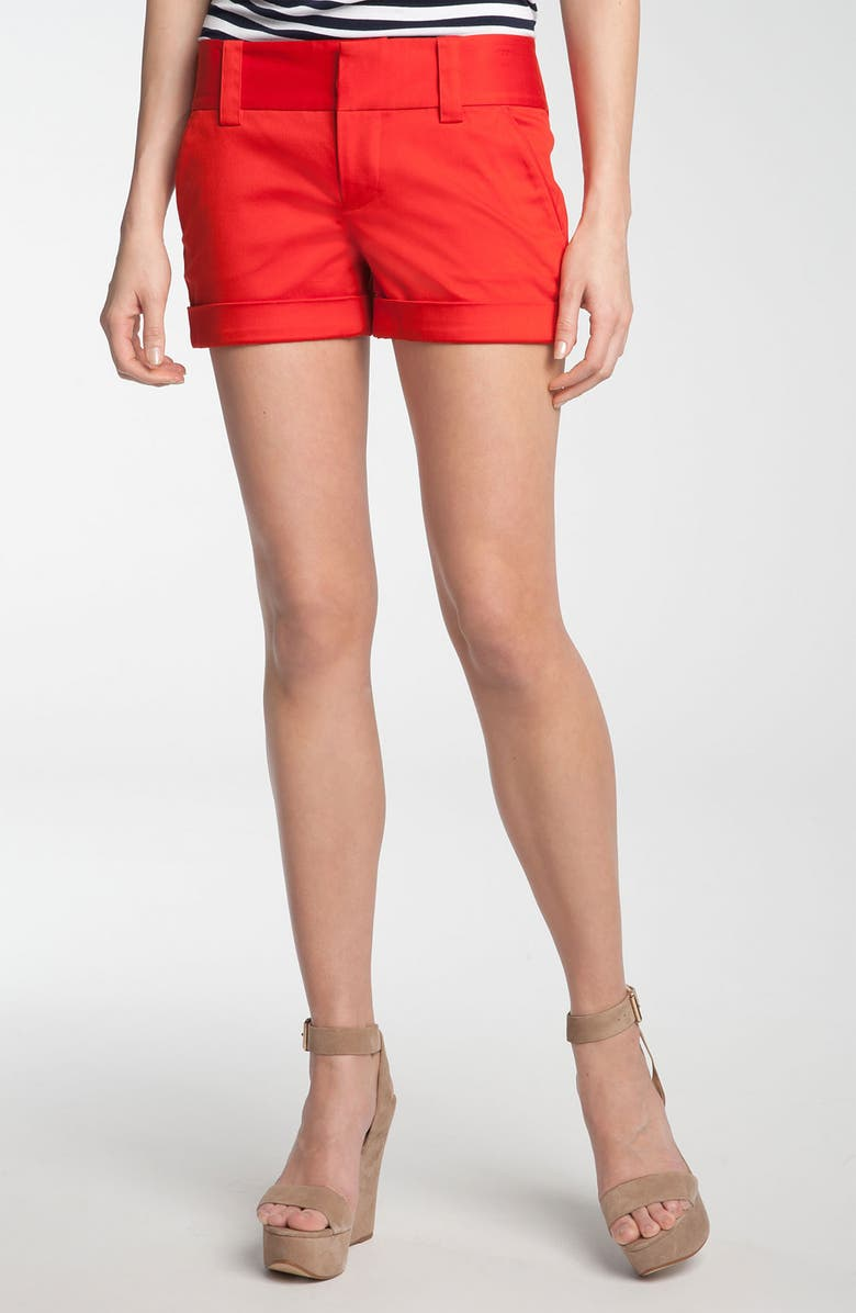 VINCE CAMUTO Cuffed Shorts, Main, color, 600