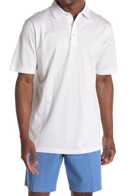 Image of Peter Millar Solid Cotton Polo
