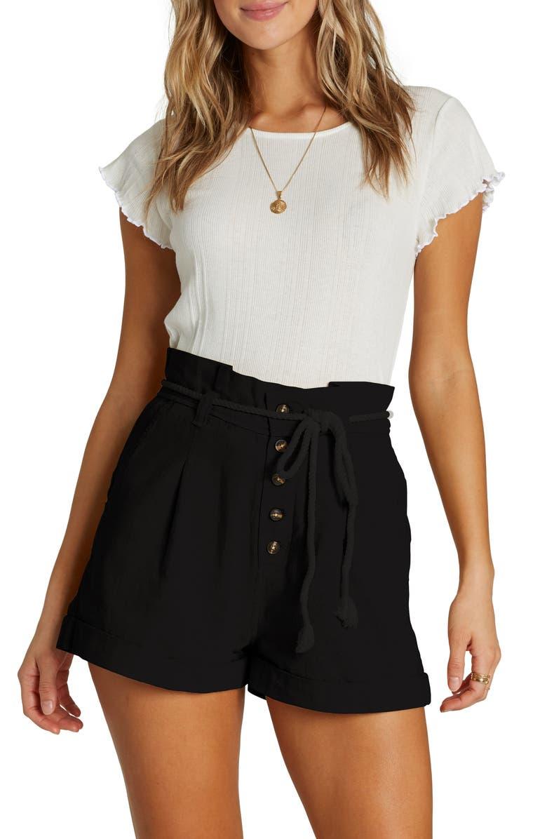 Explore More Paperbag Waist Shorts by Billabong