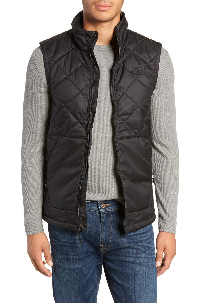 THE NORTH FACE Cervas Water Repellent Heatseeker<sup>™</sup> Insulated Vest, Main, color, 001